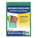 C-Line Products CLI58030 Xl Reusable Envelopes 10 Pk