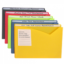 C-Line Products CLI63160 C Line 10Bx Asst Write On Poly File - Jackets