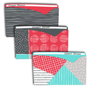 C-Line Products CLI63540 Playful Pops File Jackets 6 Pk
