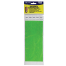 C-Line Products CLI89103 C Line Dupont Tyvek Green Security - Wristbands 100Pk