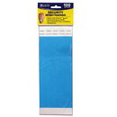 C-Line Products CLI89105 C Line Dupont Tyvek Blue Security - Wristbands 100Pk