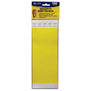 C-Line Products CLI89106 C Line Dupont Tyvek Yellow Security - Wristbands 100Pk