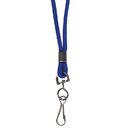 C-Line Products CLI89315 C Line Blue Std Lanyard With Swivel - Hook