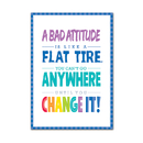 Creative Teaching Press CTP0308 A Bad Attitude Is  Inspire U Poster - Paint