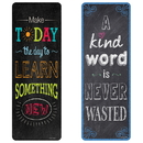 Creative Teaching Press CTP0445BN Chalk It Up Quotes Bookmark, 6 PK