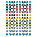 Creative Teaching Press CTP0495 Bold Bright Dazzling Dots Hot Spots