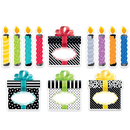 Creative Teaching Press CTP0636 6In Bold Bright Birthday Cut Outs