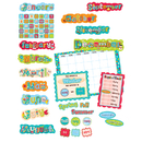 Creative Teaching Press CTP1642 Dots On Turquoise Calendar Bb Set