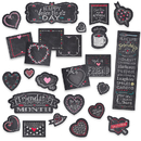 Creative Teaching Press CTP1733 Chalk Hearts Mini Bulletin Board