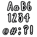 Creative Teaching Press CTP1842 4In Bold Bright Class Cafe Letters
