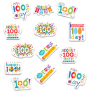 Creative Teaching Press CTP2111 Happy 100Th Day Reward Stickers