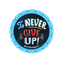 Creative Teaching Press CTP2223 I Never Give Up Reward Badges
