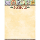 Creative Teaching Press CTP2795 Safari Friends Schedule Chart