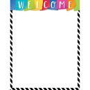 Creative Teaching Press CTP2846 Bold Bright Welcome Chart