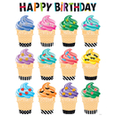 Creative Teaching Press CTP2847 Bold Bright Happy Birthday Chart