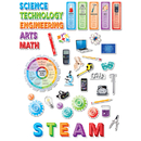 Creative Teaching Press CTP2962 Stem/Steam Bulletin Board Set