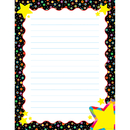 Creative Teaching Press CTP4341 Dots On Black With Stars Sm Chart