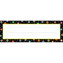 Creative Teaching Press CTP4499 Dots On Black Name Plates
