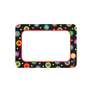 Creative Teaching Press CTP4505 Dots On Black Name Tags