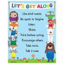 Creative Teaching Press CTP5300 Lets Get Along Chart