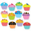 Creative Teaching Press CTP5938 Cupcakes Jumbo Cut Outs
