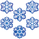 Creative Teaching Press CTP6414 Snowflakes 6In Designer Cut Outs - Designer