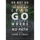 Creative Teaching Press CTP6698 Do Not Go Where The Path Poster
