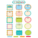 Creative Teaching Press CTP6967 Our Class Helpers Dots On Turquoise Mini Bb Set