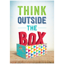 Creative Teaching Press CTP7288 Think Outside The Box Inspire U Poster