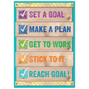 Creative Teaching Press CTP7290 Set A Goal Inspire U Poster
