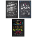 Creative Teaching Press CTP7485 Be Your Best Poster Pack Chalk It Up