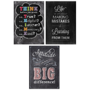 Creative Teaching Press CTP7486 Think Positive Poster Pack Chalk It Up