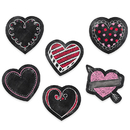 Creative Teaching Press CTP8089 3In Chalk Hearts Designer Cut Outs