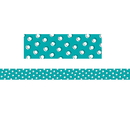 Creative Teaching Press CTP8494 Doodles Dots On Teal Border So Much Pun