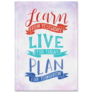 Creative Teaching Press CTP8582 Learn Live Plan Inspire U Poster