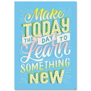 Creative Teaching Press CTP8586 Make Today The Day To Inspire U Poster