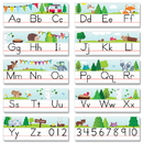 Creative Teaching Press CTP8597 Woodland Friends Alphabet Line