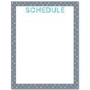 Creative Teaching Press CTP8635 Calm & Cool Schedule Chart