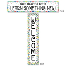 Creative Teaching Press CTP8669 Color Pop Welcome Banner 2-Sided
