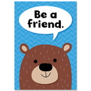 Creative Teaching Press CTP8692 Be A Friend Woodland Friends Inspre Poster