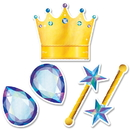Creative Teaching Press CTP8708 Crowns And Jewels Cut Outs 6 In Mystical Magical