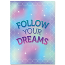 Creative Teaching Press CTP8712 Follow Your Dreams Mystical Magical Inspire U Poster