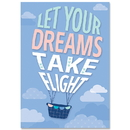Creative Teaching Press CTP8713 Let Your Dreams Take Flight Calm & Cool Inspire U Poster