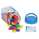 Learning Advantage CTU13283 Color Tiles Mini Jar