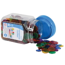 Learning Advantage CTU13432 Transparent Counters Mini Jar