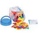Learning Advantage CTU22026 Pattern Blocks Mini Jar