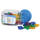 Learning Advantage CTU56504 Transparent Number Set Mini Jar