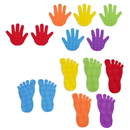 Learning Advantage CTU63525 Hand And Foot Mark Set