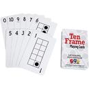 Learning Advantage CTU7293BN Ten Frames Playing Cards, 6 PK