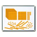 Learning Advantage CTU7423 Magnetic Foam Base Ten Blocks